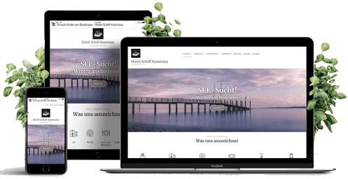 Webdesign Konstanz Responsive Webdesign Beispiel