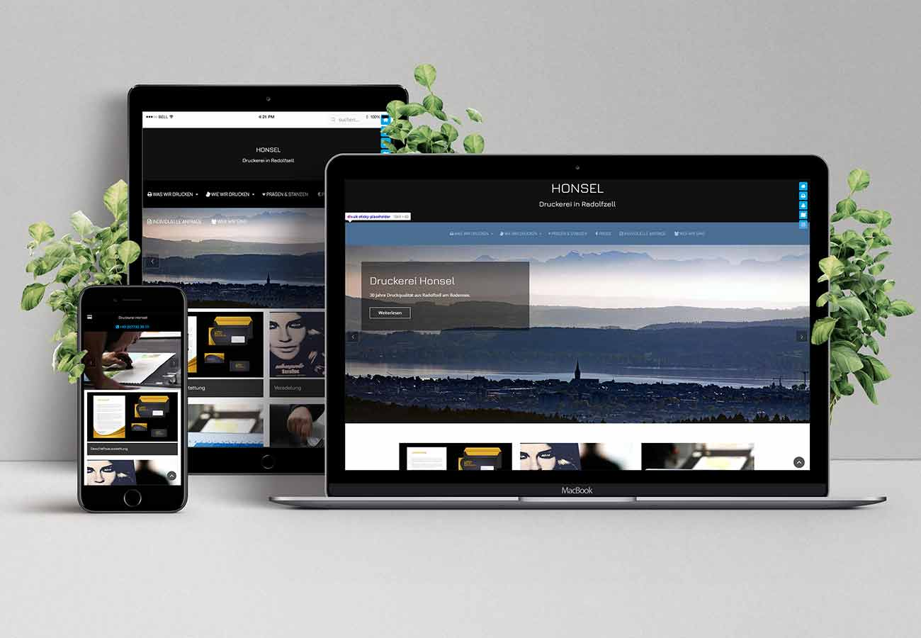 Webdesign Konstanz Moc up Druckerei am Bodensee